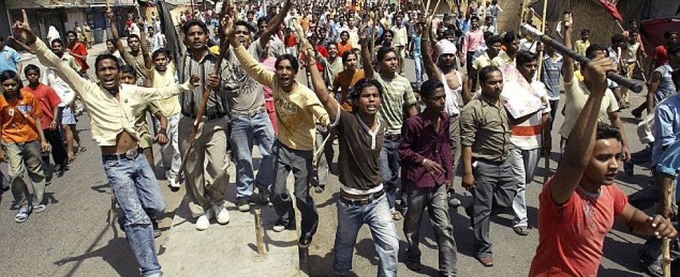 india-dalit protest in punjab
